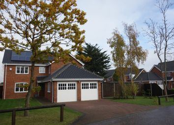 Thumbnail 4 bedroom detached house for sale in Harrier Drive, Lowestoft, Suffolk