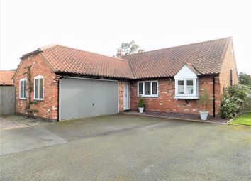 Thumbnail 4 bed detached bungalow for sale in School Lane, Harby, Melton Mowbray
