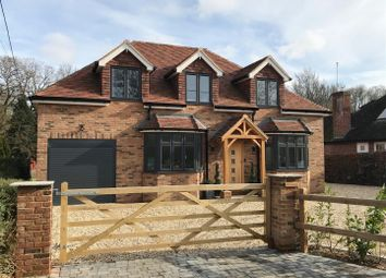 Thumbnail 5 bed detached house for sale in Broadlayings, Woolton Hill, Newbury