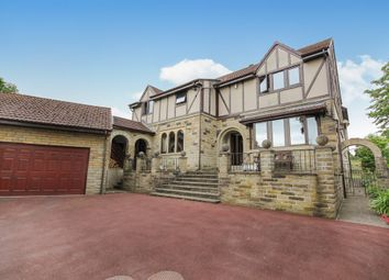 Thumbnail 5 bed detached house for sale in Burley Lane, Menston, Ilkley