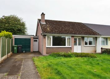 Thumbnail 2 bed semi-detached bungalow for sale in Caldew Drive, Dalston, Carlisle, Cumbria