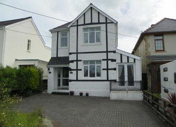Thumbnail 3 bed detached house for sale in Llannon Road, Upper Tumble, Llanelli