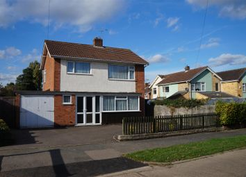Thumbnail 3 bed detached house for sale in Tredington Road, Glenfield, Leicester