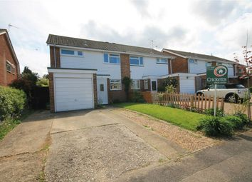 Thumbnail 3 bed semi-detached house for sale in Humber Close, Thatcham