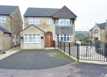 Thumbnail 4 bed detached house for sale in Trinity Close, Halifax
