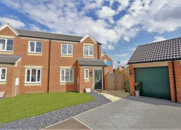 Thumbnail 3 bedroom semi-detached house for sale in Bath Close, Bourne