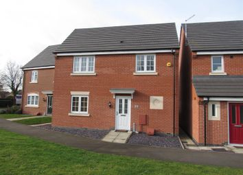 Thumbnail 3 bed detached house for sale in Field View Close, Huncote, Leicester