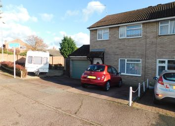 Thumbnail 3 bed semi-detached house for sale in Anderson Close, Needham Market