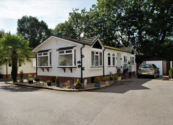 Thumbnail 2 bed mobile/park home for sale in The Oaks, Mount Pleasant Residential Park, Goostrey