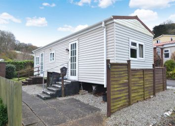 Thumbnail 1 bed detached bungalow for sale in Cosawes Park Homes, Perranarworthal, Truro