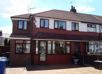 Thumbnail 4 bed semi-detached house to rent in Noreen Avenue, Prestwich, Manchester