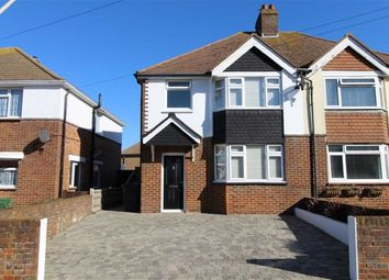 Thumbnail 3 bed semi-detached house for sale in Churchdale Road, Eastbourne, East Sussex