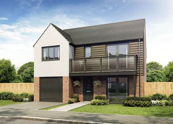 "Thumbnail 4 bed detached house for sale in ""The Clayworth"" at Exeter Road, Wallsend"