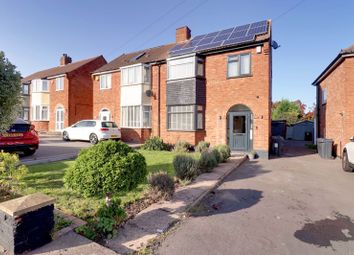 Thumbnail 3 bed semi-detached house for sale in Wimbourne Road, Sutton Coldfield
