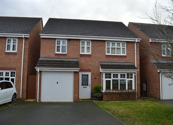 Thumbnail 4 bed detached house for sale in Vernon Drive, Market Drayton
