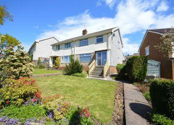 Thumbnail 3 bed semi-detached house to rent in Afon Close, New Inn, Pontypool