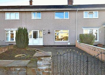 Thumbnail 3 bed terraced house for sale in Llanyravon Way, Llanyravon, Cwmbran