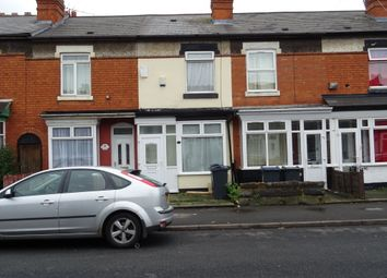 Thumbnail 2 bed terraced house for sale in Medina Road, Birmingham