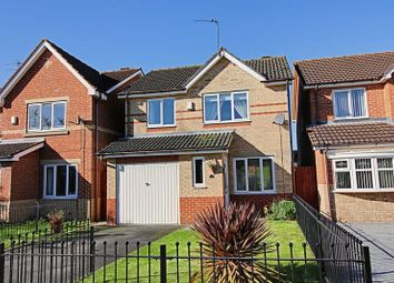 Thumbnail 3 bed detached house for sale in Kelberdale Close, Kingswood, Hull