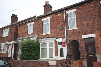 Thumbnail 3 bed terraced house to rent in Gateford Road, Worksop