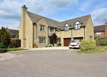 Thumbnail 5 bedroom detached house for sale in Stoke Park Court, Bishops Cleeve, Cheltenham