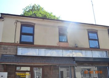 Thumbnail 1 bed flat to rent in First Floor Flat, Caldmore Road, Walsall