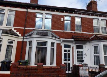 Thumbnail 3 bed terraced house for sale in Brithdir Street, Cardiff