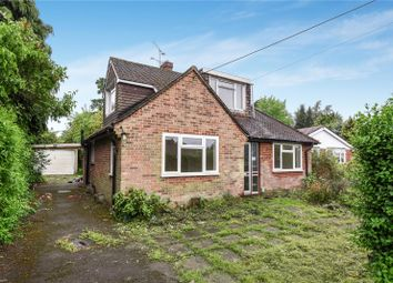 Thumbnail 4 bed detached bungalow for sale in Sandhurst Lane, Blackwater, Camberley, Hampshire