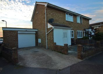 Thumbnail 2 bed semi-detached house for sale in Lakeview, Canvey Island