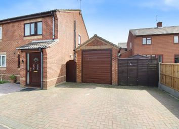 Thumbnail 2 bed semi-detached house for sale in Webster Way, Caister-On-Sea, Great Yarmouth