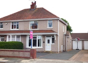 Thumbnail 3 bedroom semi-detached house for sale in Beaufort Road, Bare, Morecambe