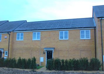 Thumbnail 2 bed maisonette to rent in Creed Road, Oundle, Cambridgeshire