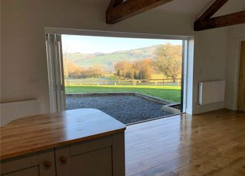 Thumbnail 2 bedroom barn conversion for sale in Plot 5, Upper Pen Y Gelli Farm, Kerry, Powys