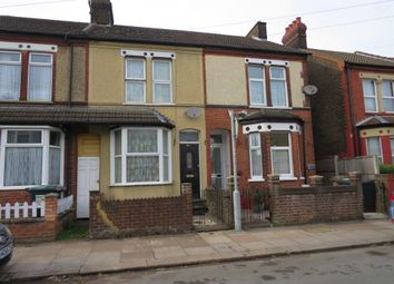 Thumbnail 3 bedroom terraced house for sale in Shaftesbury Road, Luton