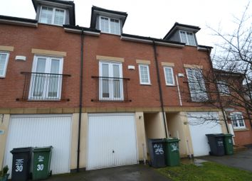 Thumbnail 3 bed town house to rent in Threadcutters Way, Shepshed, Loughborough
