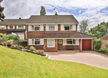 Thumbnail 4 bedroom detached house for sale in Woodvale Avenue, Cyncoed, Cardiff