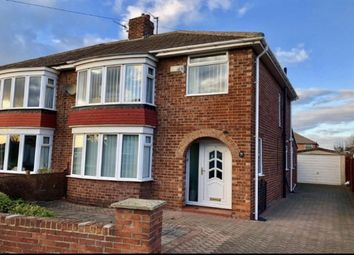 Thumbnail 3 bed semi-detached house for sale in Lodore Grove, Acklam, Middlesbrough