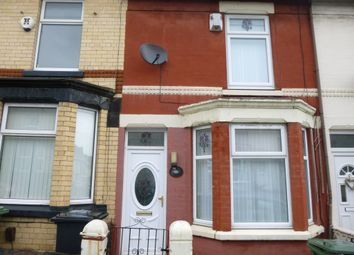 Thumbnail 2 bed terraced house to rent in Briardale Rd, Tranmere, Wirral