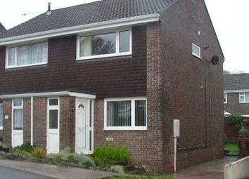 Thumbnail 2 bedroom semi-detached house to rent in Prideaux Road, Ivybridge