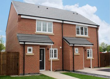 Thumbnail 2 bed semi-detached house for sale in Star Cottages, Private Road, Stoney Stanton, Leicester