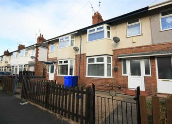 Thumbnail 3 bed terraced house to rent in Colville Avenue, Hull