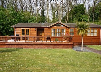 Thumbnail 2 bed lodge for sale in St Minver Holiday Park, Near Rock