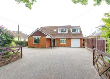 Thumbnail 4 bed detached house for sale in Rownhams Lane, North Baddesley, Hampshire