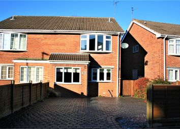 Thumbnail 3 bed semi-detached house for sale in Sullington Road, Shepshed, Loughborough, Leicestershire