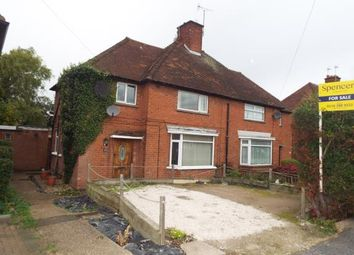 Thumbnail 3 bed semi-detached house for sale in Holmden Avenue, Wigston, Leicestershire