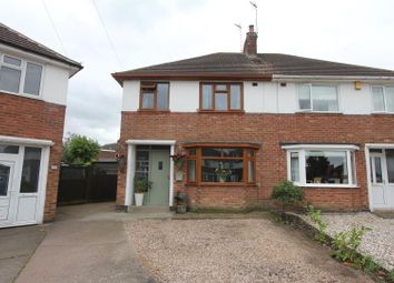 Thumbnail 3 bedroom semi-detached house for sale in Hollydene Crescent, Earl Shilton, Leicester