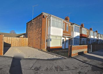 Thumbnail 3 bed end terrace house for sale in Eskdale Avenue, Hull, North Humberside