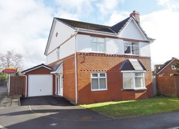 Thumbnail 4 bed detached house to rent in Elms Park, Thingwall, Wirral