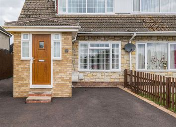 Thumbnail 3 bed semi-detached house for sale in Caestory Avenue, Raglan, Monmouthshire