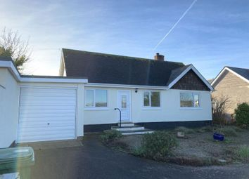 Thumbnail 3 bed bungalow to rent in Exeter Road, Dawlish
